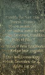 Thomas Hobbes's Grave