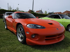 Turtleball2009-Hemi-orange-Dodge-Viper-002 (Roadtraveller) Tags: show orange green classic cars car copenhagen denmark us photo high foto image fast olympus run hires american definition restored resolution dodge hi hd hemi custom rez viper res danmark 2009 meet challenger def kbenhavn billede rebuilt hidef amager hirez qualiti roadtraveller turtleball