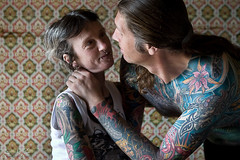 Dany & Colette (P_mod) Tags: portrait tattoo ink colette dany asphaltjungle pmod