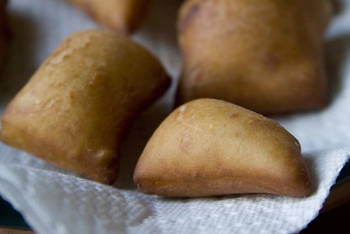 Unsugared beignets