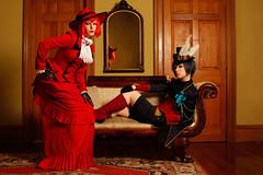 Team USA 2009 (Anna Fischer) Tags: nyc newyork vintage costume cosplay victorian retro cosplayer period traje kostm wcs  teamusa puku ceil   worldcosplaysummit madamred kuroshitsuji blackbutler irvinginn