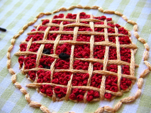french knot cherry pie