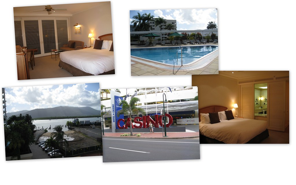 Our fabulous 5 star hotel in Cairns...