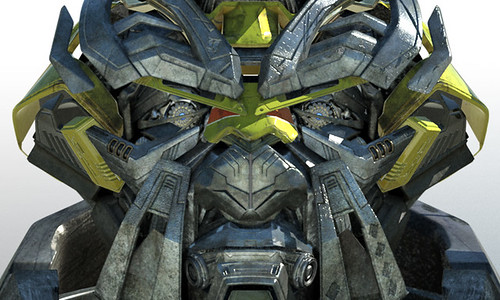 Transformers 2 rostro Ratchet