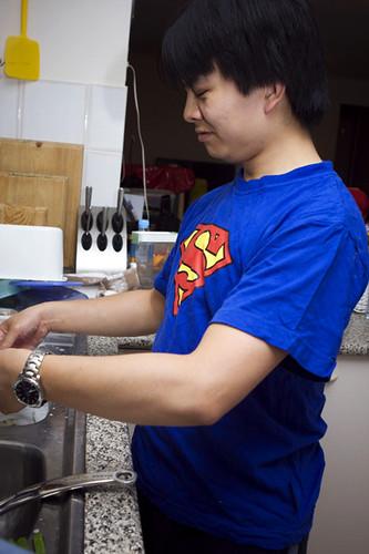 My Superman...