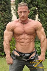 g1 (jimmyzpics) Tags: sexy jock muscles muscular muscleman bodybuilder flex biceps abs quads glutes