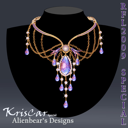 RFL2009 KrisCar gold necklace special