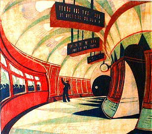 cyril e power: the tube station