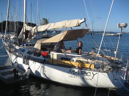 Med moored in Vitoria