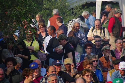 Il pubblico della Festa del Maggio 2009