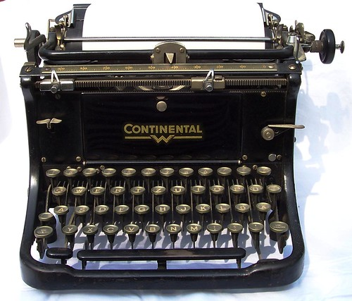 Antique German Continental Typewriter