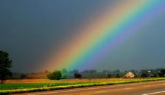 The End of the Rainbow (mightyquinninwky) Tags: trees clouds geotagged rainbow kentucky farmland fields farms rainbows storms bbe bypass badweather severeweather westernkentucky naturesart endoftherainbow buiilding cloudyskies ohiorivervalley photographyrocks weatherphotography hendersonkentucky royalgroup flickraward hendersoncountykentucky 1on1colorfulphotooftheweek gününeniyisithebestofday soybeanfields geo:lat=37791049 geo:lon=87574532 1on1colorfulphotooftheweekoctober2010