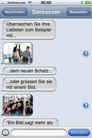 Swisscom MMS iPhone 3.0
