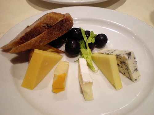 Carnival Elation - Cheese Selection (Imagination Dining Room)