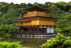 Kinkaku-ji / Goldener-Pavillon-Tempel (themonnie) Tags: japan kyoto   kinkakuji hdr tempel kyto  goldenerpavillontempel