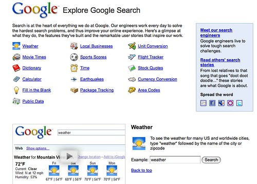 Explore Google Search