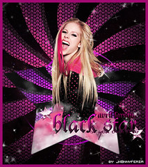 Avril Lavigne / Black Star (Jay.Feria) Tags: music black star flickr pop diva avril lavigne fragance