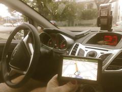 ford fiesta miami geocache GPS garmin