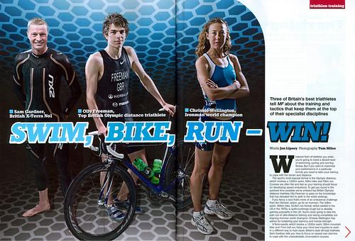 CW Men's Fitness Magazine