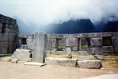 Mists at Machu Picchu