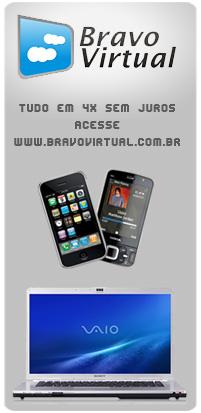 Bravo Virtual, tudo em 4x sem juros