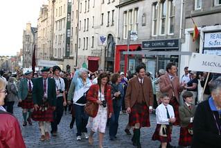 Clan MacNab - The Clan Parade - The Gathering 09