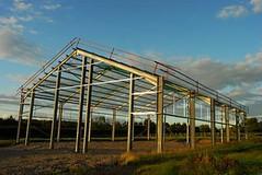 Gavanized Steel Greenhouse Framing