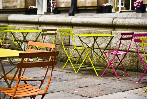 Terraza colorista en Belvedere Road #2
