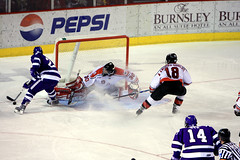 #30 Allen York (SaraMelikian) Tags: ny hockey troy denver co ncaa crusaders engineers rpi rensselaer ecac holy hockey 1 cup cross fargo ice divison wells denver