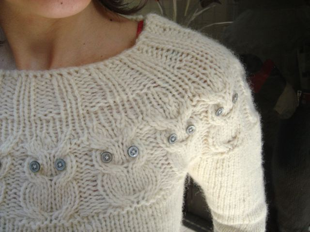 ...I´m actually wearing the pure wool sweater!