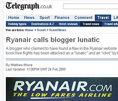 Ryanair Low Fares Airline