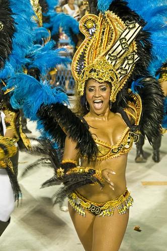 Carnaval in Rio, Sambodromo 2009, Vila Isabel por Quasebart.