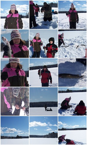 icefishing Somes Pond 2/08