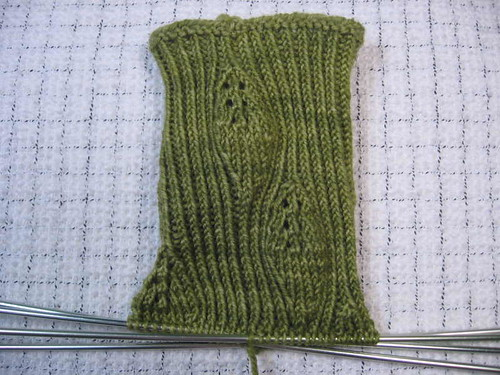 Spring Thaw socks in progress