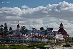 Hotel Del (Nick Chill Photography) Tags: california slr beach photography hotel nikon image sandiego stock historic historical nikkor dslr coronado dx hoteldel d60 grouptripod nickchill