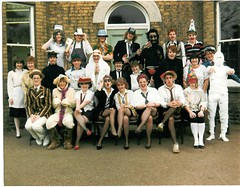 Sixth Form Xmas 1986 (julianhaddenbkk) Tags: school grammar alford qegs