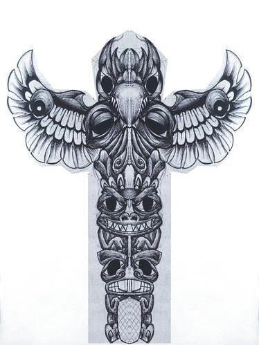 totem almir desenho feito p tattoo Photo by solvente