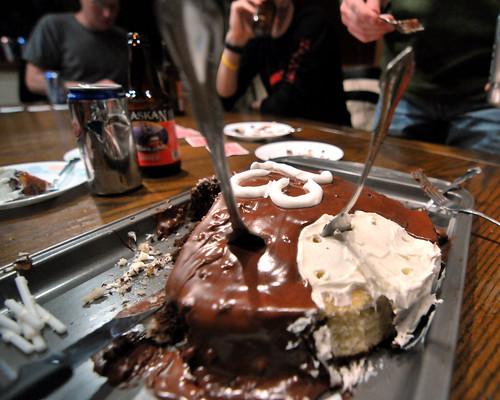 Beer 'n cake