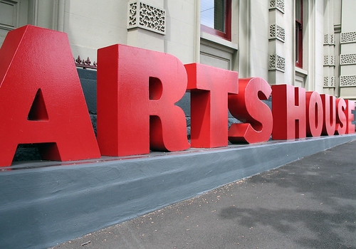Artshouse signage, North Melbourne
