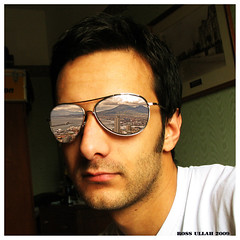 Made in Naples (Ross Damon Ullah) Tags: portrait selfportrait sunglasses napoli autoritratto madeinnaples occhialidasole riflettere