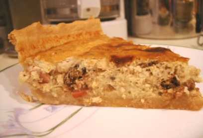 Tomato Feta Quiche - Joy of Cooking