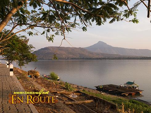 Laos Pakse Mekong River