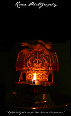 Better to light a lamp than to curse the darkness (RozeePhotography) Tags: light fire colourartaward kuthuvilakku