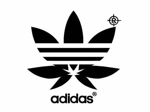 Cannabis Adidas Shirt