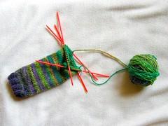 IMG_6113 (botaneige) Tags: tricot noro jambire legwarmies