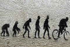 Evolution of Man - Street Art - Austin, Texas ...