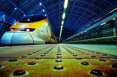 Eurostar is flying again... (Paul Clifford (Bannister)) Tags: travel london train fire pentax eurostar bricks explore 365 tunel chunnel project365 k20d 1650mm pentaxk20d
