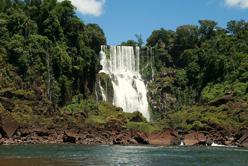 nature waterfalls Foz do Iguaçu Brazil Paraná Salto Bossetti