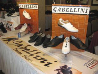 Gabellini Dance Shoes at a Salsa Congress