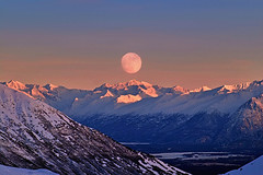Out Of Reach (jack4pics) Tags: winter moon mountains composite alaska matsu citrit onlythebestare
